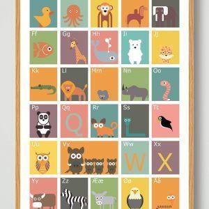 ABC designerplakat