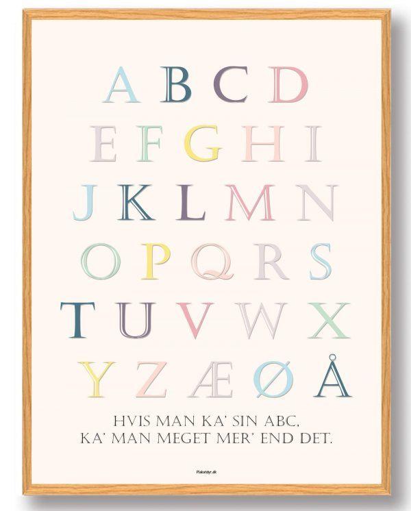 ABC-plakat