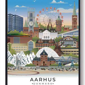 Aarhus byplakat