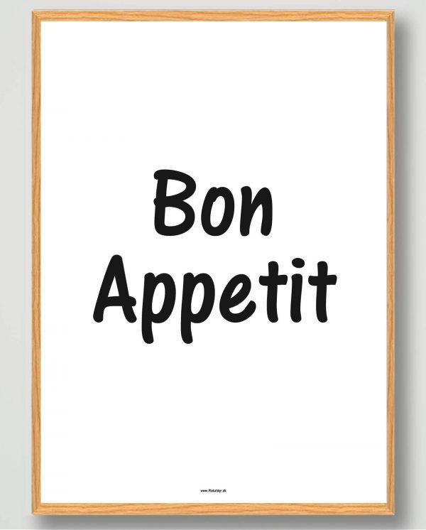 Bon Appetit - plakat