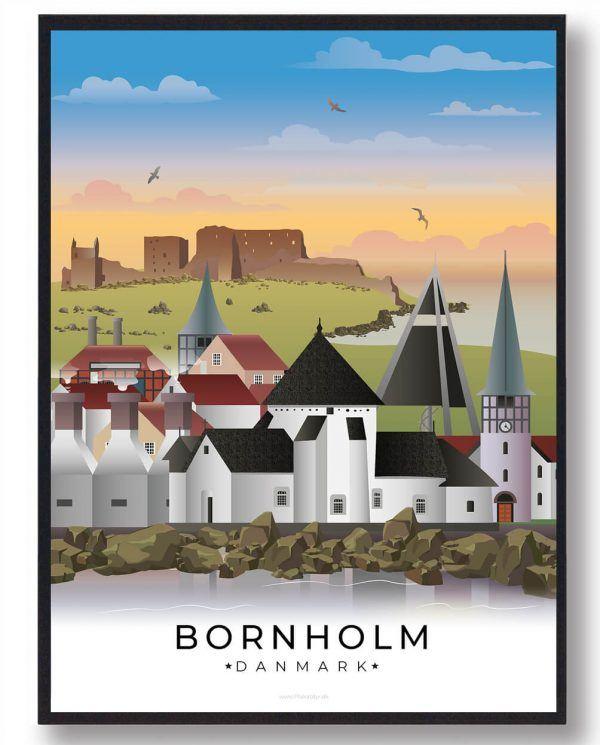 Bornholm byplakat