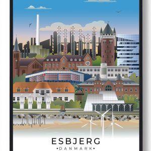 Esbjerg byplakat