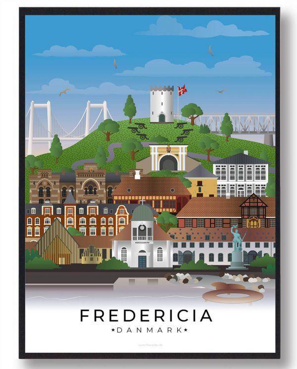 Fredericia byplakat