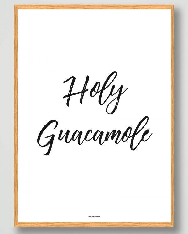 Holy guacamole - plakat