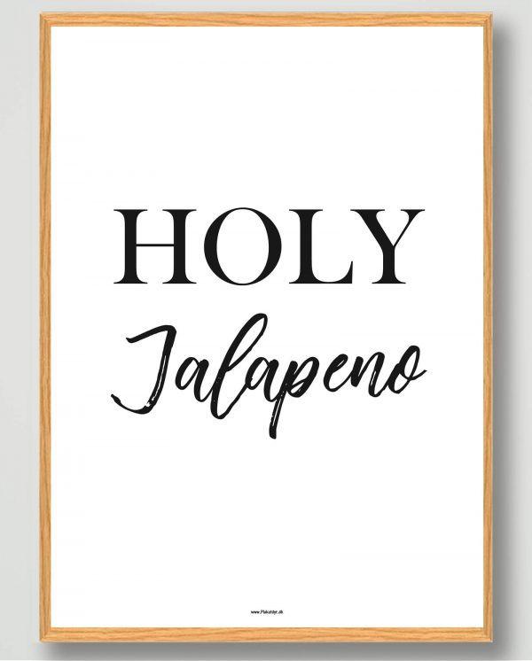Holy jalapeno - plakat