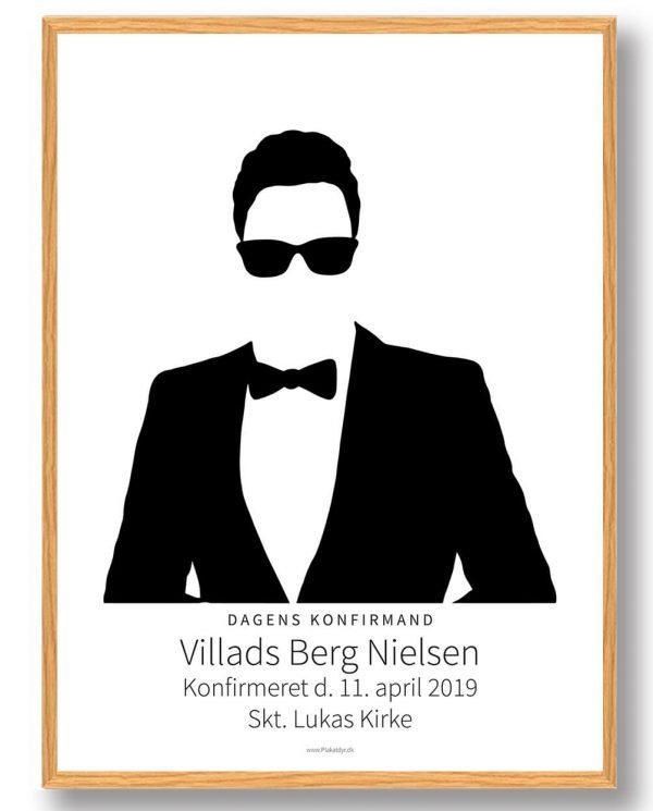 Konfirmationsgave - plakat