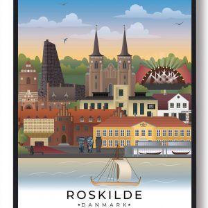 Roskilde byplakat