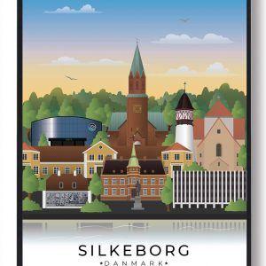 Silkeborg byplakat