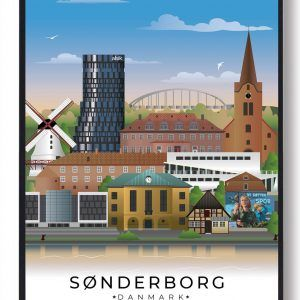 Sønderborg byplakat
