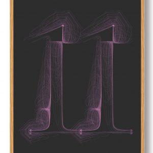 Tallet 11 - plakat