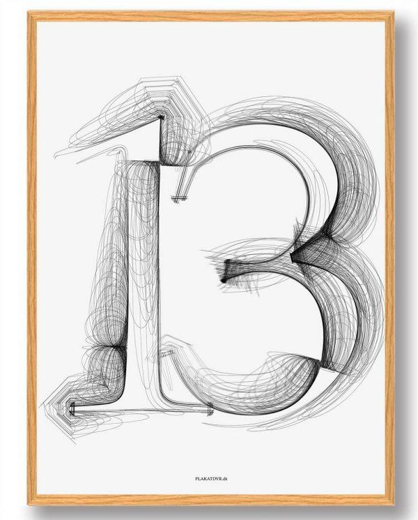 Tallet 13 - plakat