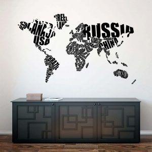 #2 Bogstaver verdenskort