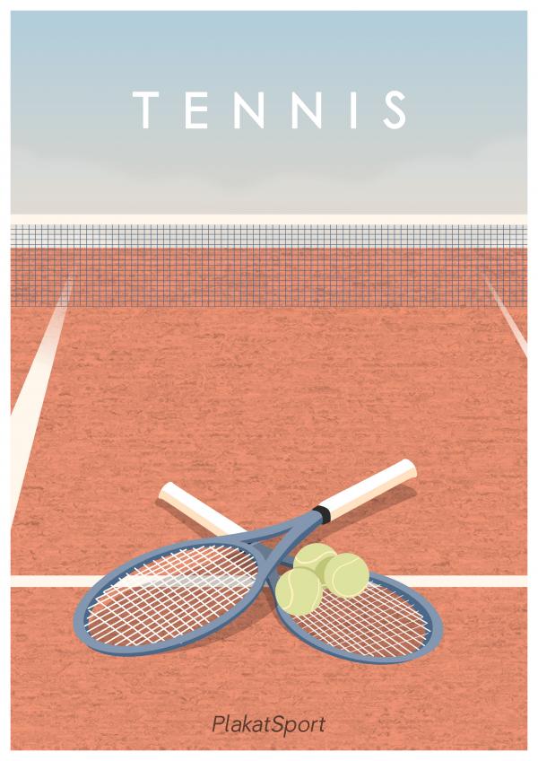 Tennis plakat