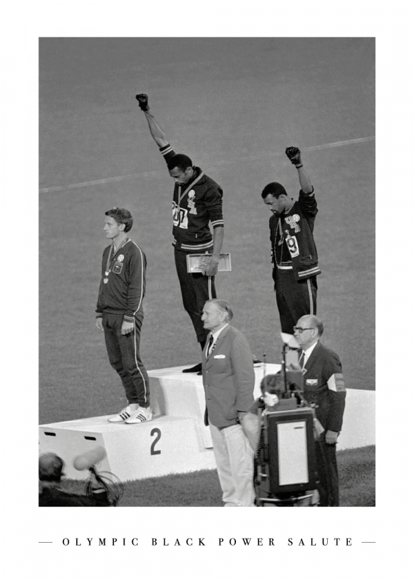 Black Power Salute - Plakat