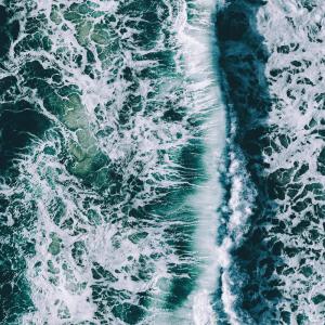 Bølgeskum - Airpixels plakat