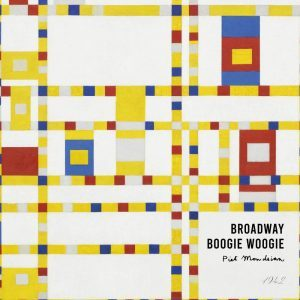 Broadway boogie woogie - Piet Mondrian