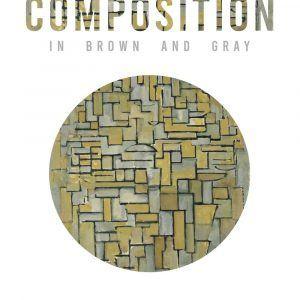 Composition in brown og gray - Piet Mondrian