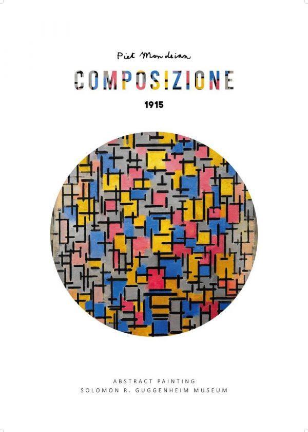 Composizione I - Piet Mondrian