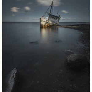 Esby strand - Brian Lichtenstein plakat