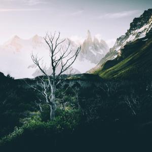 Eventyrligt landskab - Airpixels plakat