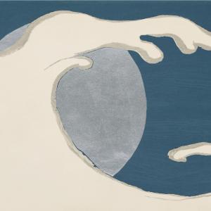 Full moon - Japansk kunstplakat