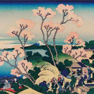 Goten-Yama Hill - Japansk kunstplakat