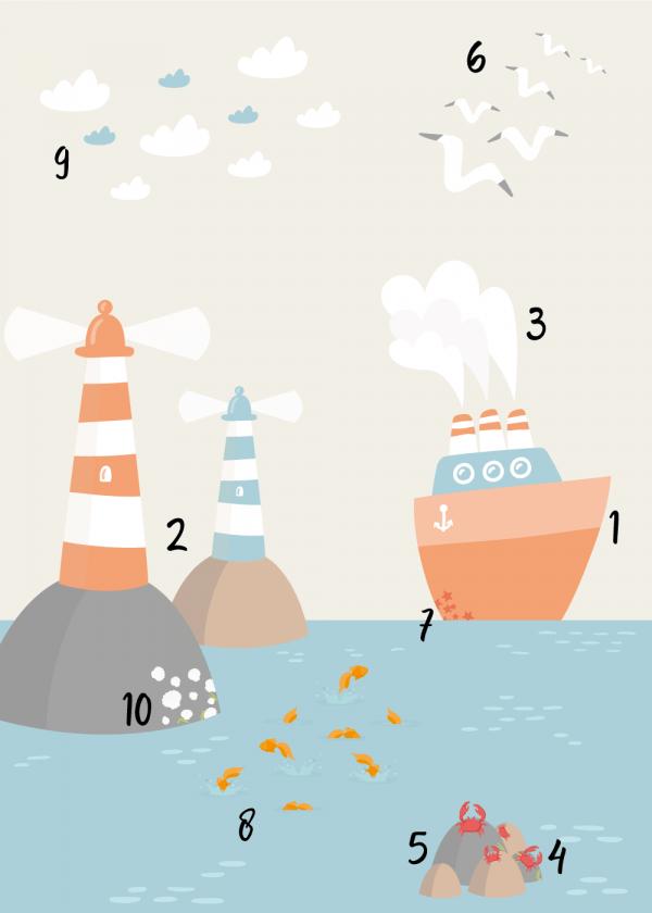 Havnen - Tal plakat