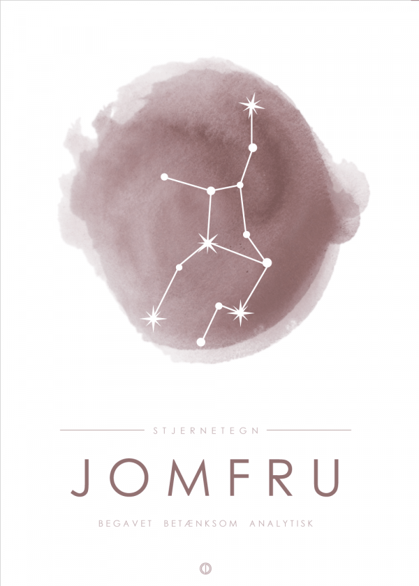 Stjernebillede plakat - Jomfru