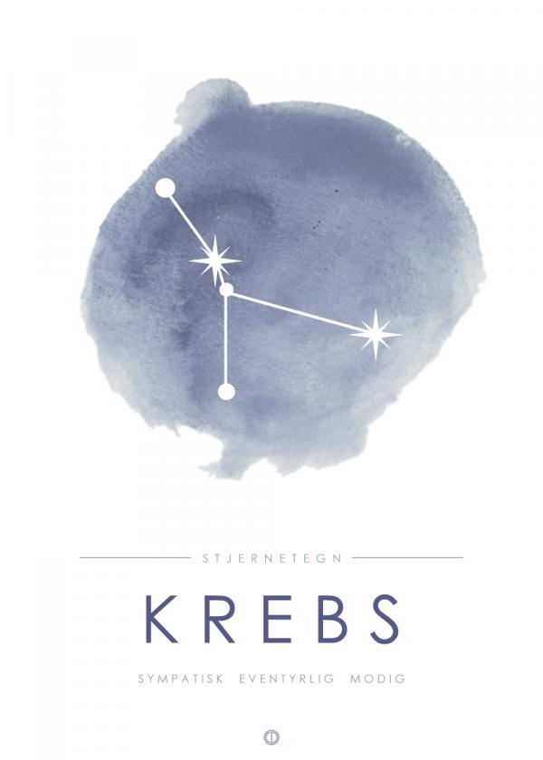 Stjernebillede plakat - Krebs