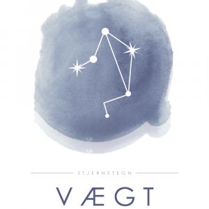 Stjernebillede plakat - Vægt