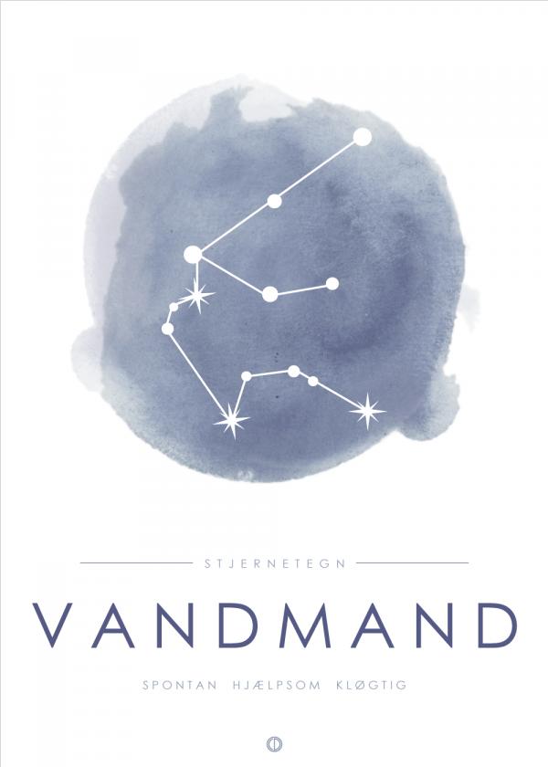 Stjernebillede plakat - Vandmand