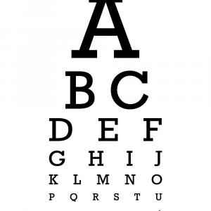 Synstavle plakat - ABC