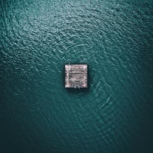 Tømmerflåde - Airpixels plakat