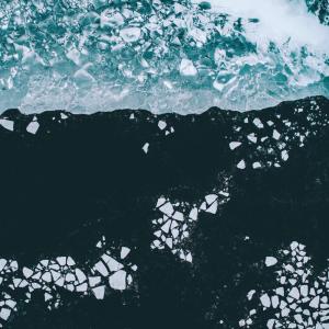 arktisk hav - Airpixels plakat