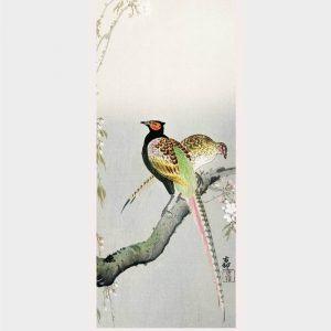 A couple of pheasants - Japansk kunst plakat