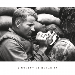 A moment of humanity - Plakat