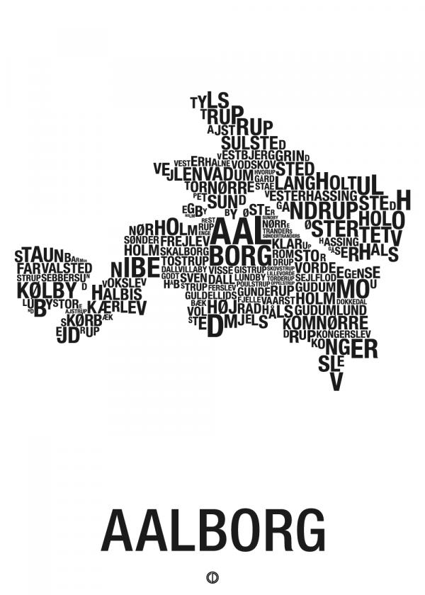 Aalborg plakat - By plakat