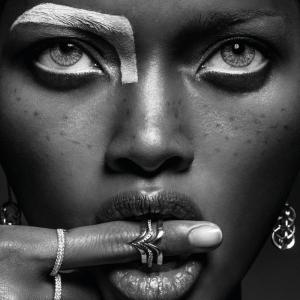 African woman plakat