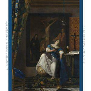 Allegory of the Catholic Faith - Johannes Vermeer