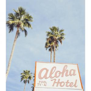 Aloha Hotel plakat