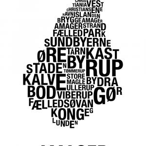 Amager plakat - By plakat