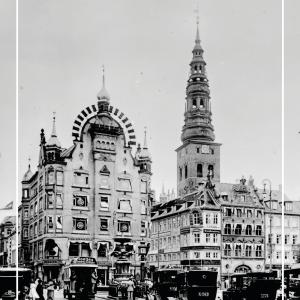 Amagertorv - Gamle billeder af København plakat