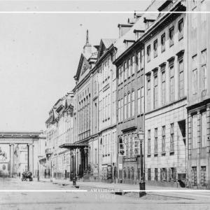 Amaliegade - København plakat - Gamle billeder