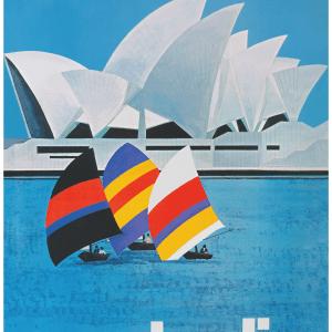 American Airlines - Retro plakat