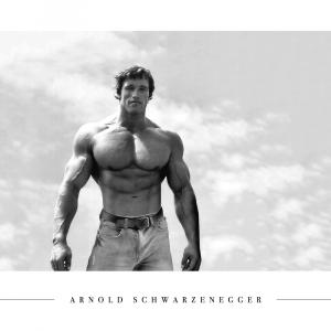 Arnold Schwarzenegger - Plakat