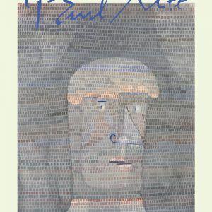 Athlete's head - Paul Klee Kunstplakat