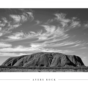 Ayers Rock - Plakat