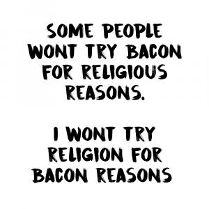 Bacon reasons