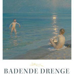 Badende Drenge - P.S. Krøyer plakat