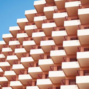 Balconies - Arkitektur plakat